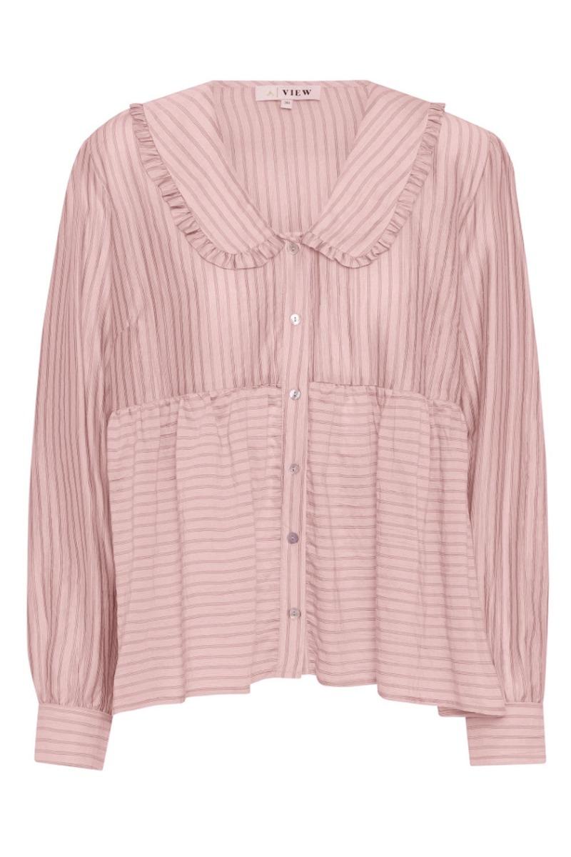 Køb A-View – Skjorte – Karoline Shirt – Soft Pink