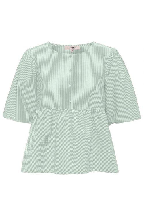 A-View Bluse Sara Blouse Pale Mint Front