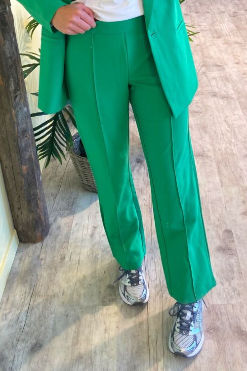 A-View - Bukser - Sina Pant - Forest green