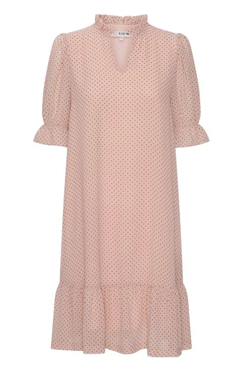 A-View Kjole Isco Pink Front