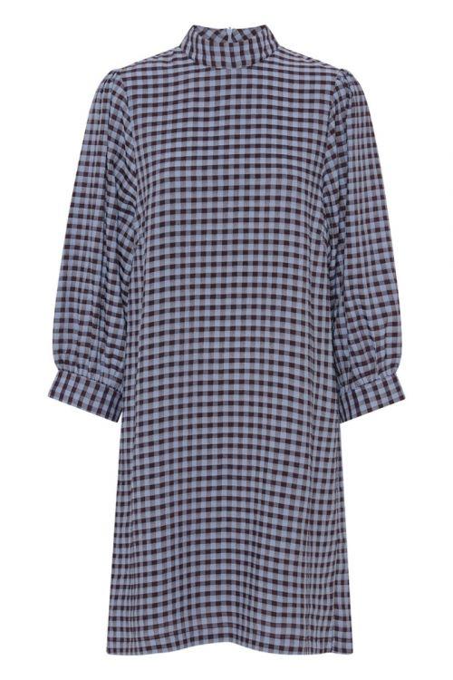 A-View - Kjole - Lady Check Dress - Blue Check