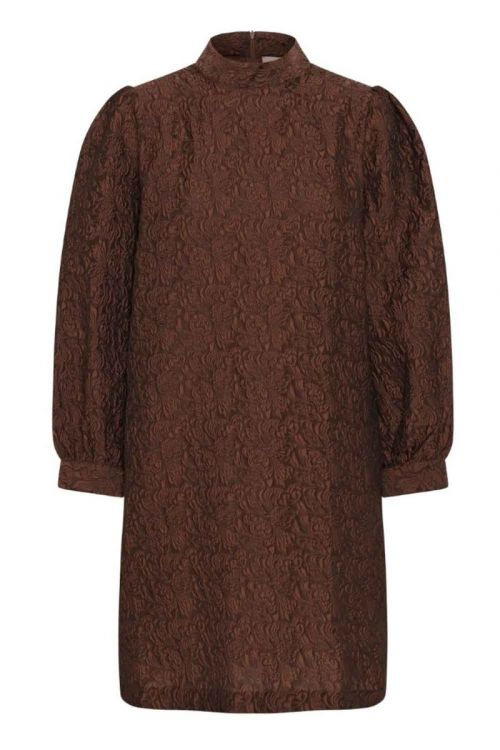 A-View Kjole Lady Dress Brown Front