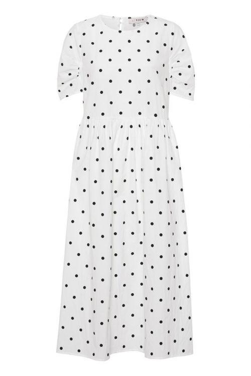A-View - Kjole - Sisse Midi Dress - White