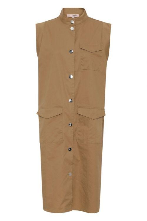A-View - Kjole - Smilla SL. Dress - Beige