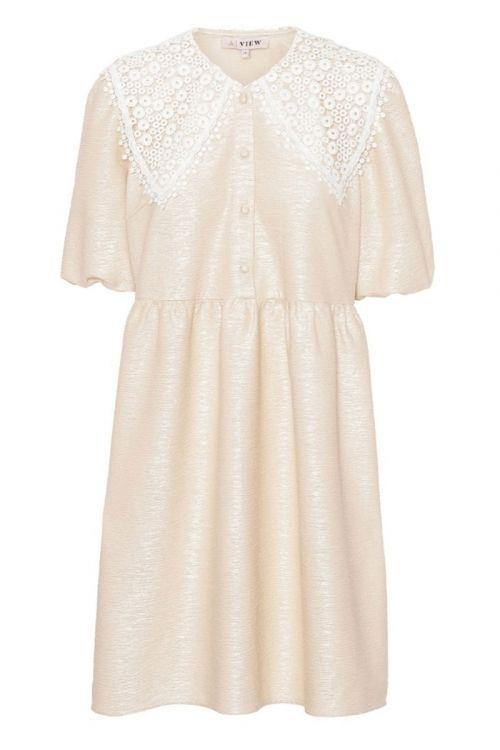 A-View - Kjole - Tanco Dress - Pale Yellow