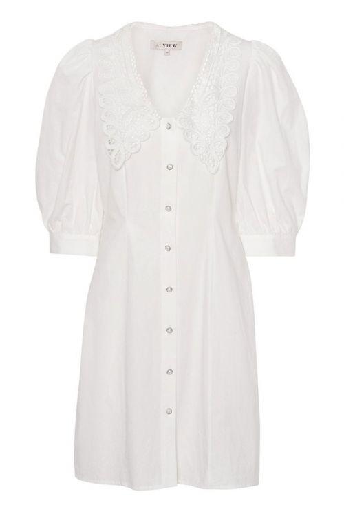 A-View - Kjole - Thilda Dress - White