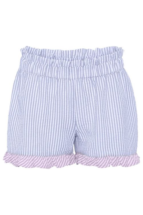 A-View Shorts Salvador Shorts Blue Stribe With Purple Front