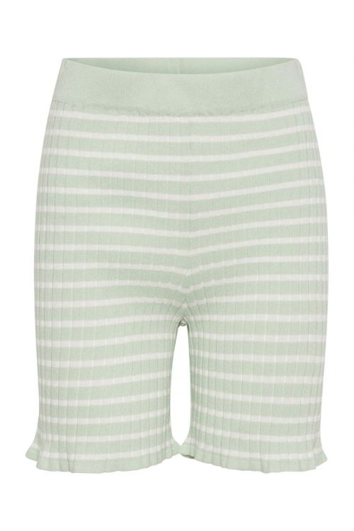 A-View Shorts Sira Shorts Pale Mint/Off White Front