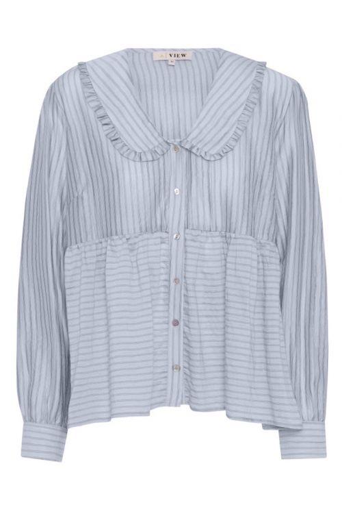 A-View - Skjorte - Karoline Shirt - Light Blue