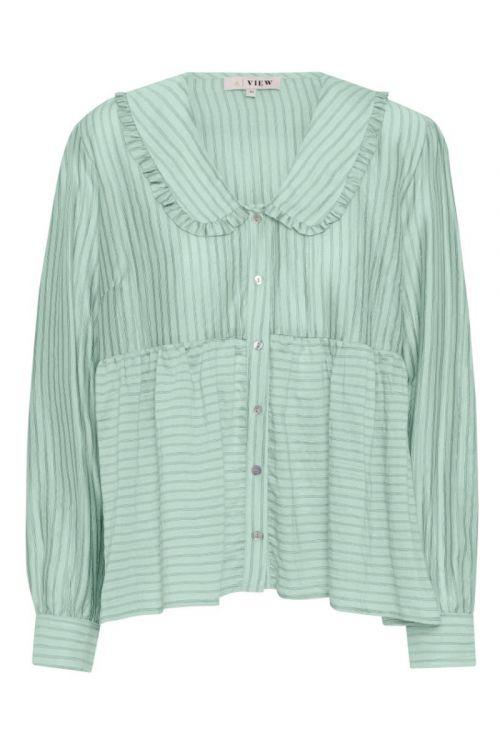 A-View - Skjorte - Karoline Shirt - Mint