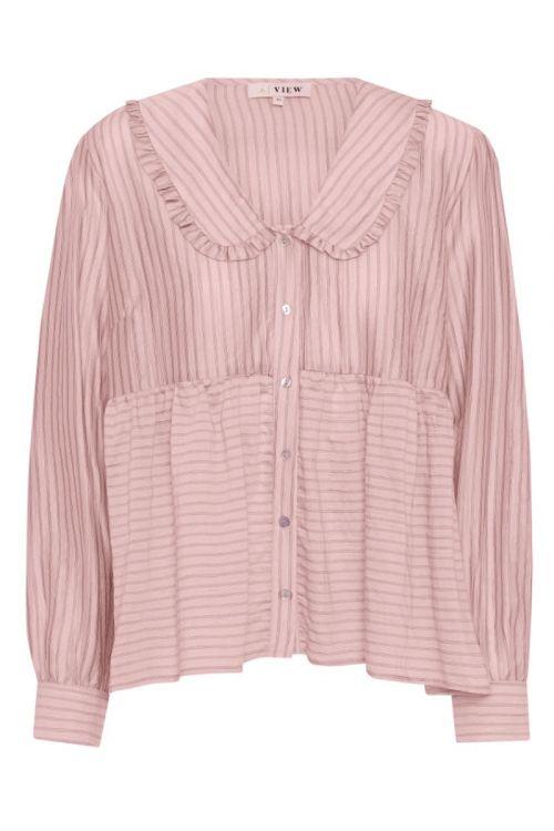 A-View - Skjorte - Karoline Shirt - Soft Pink