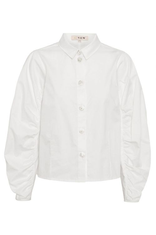 A-View Skjorte Molly Shirt White Front