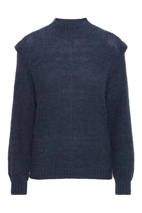 A View Strik Karlo Pullover Blue Front