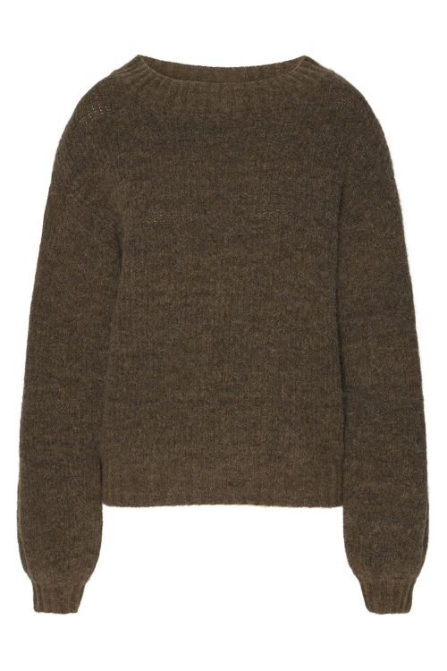 A View Strik Kristel Pullover Military Olive Front