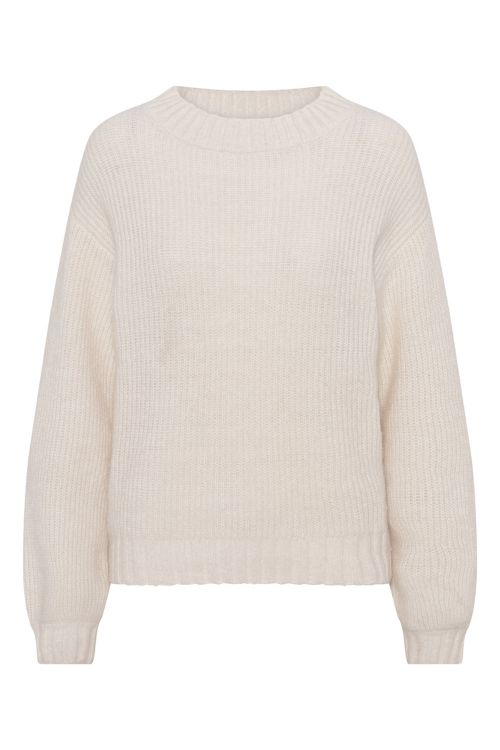 A View Strik Kristel Pullover Off White Front