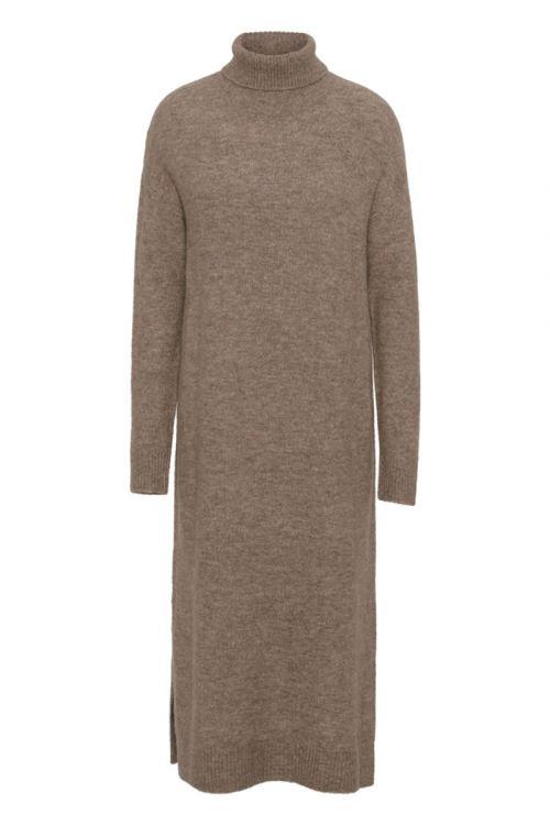 A-View - Strik - Penny Knit Dress - Camel