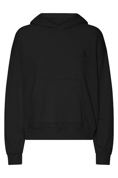 A-View Sweat Kiss Sweatshirt Black Front