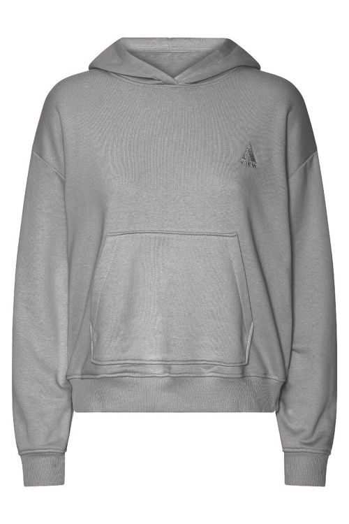 A-View Sweat Kiss Sweatshirt Grey Front
