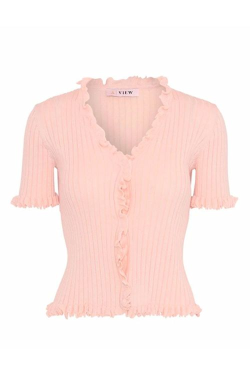 A-View Bluse Fabia Rose Front