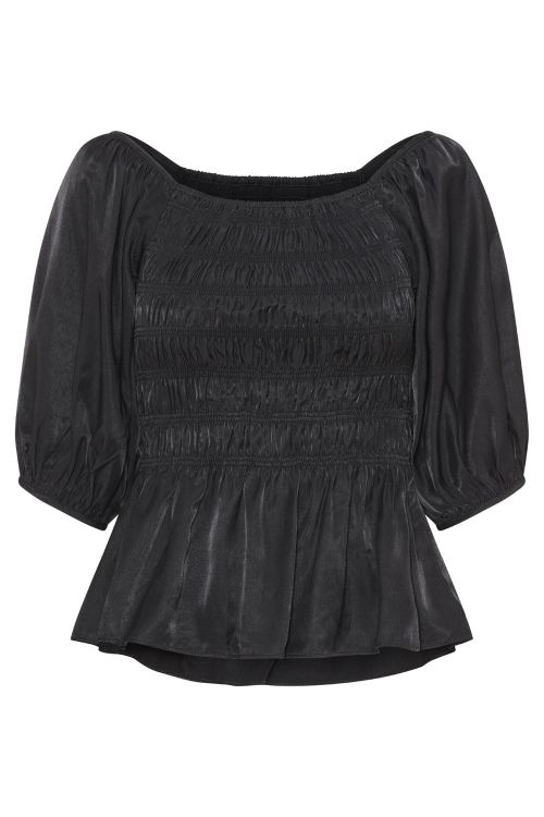 A-View Bluse Lioma Top Black Front