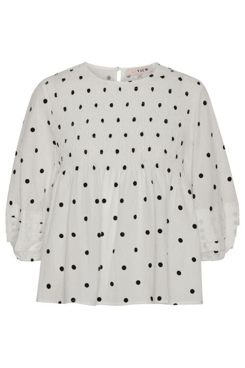A-View - Bluse - Sisse Blouse - White