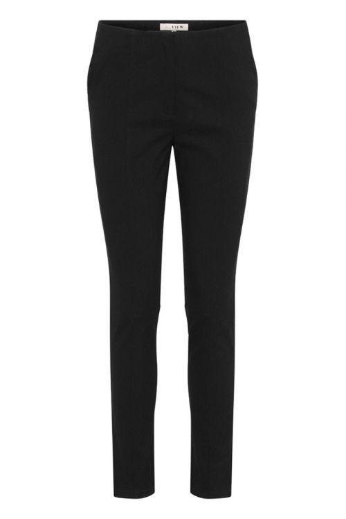 A-View Bukser Minja Pant Black Front