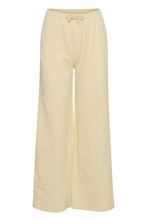 A-View Bukser Olga sweat pant Pale yellow Front