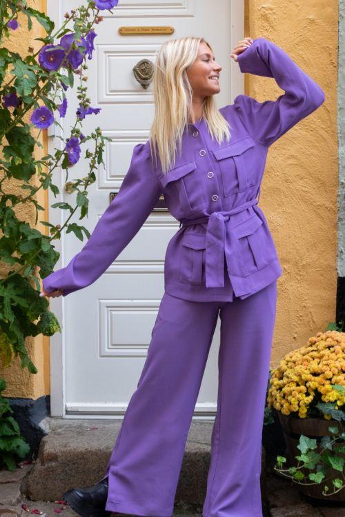 A-View - Bukser - Vica Pant - Purple