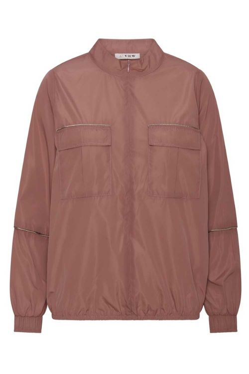A-View Jakke Ico Select Jacket Old Rose Front