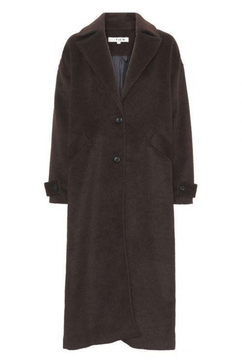 A-View Jakke Vera Coat Brown Front
