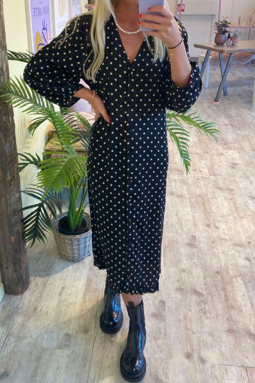 A-View - Kjole - Anja Dress - Black