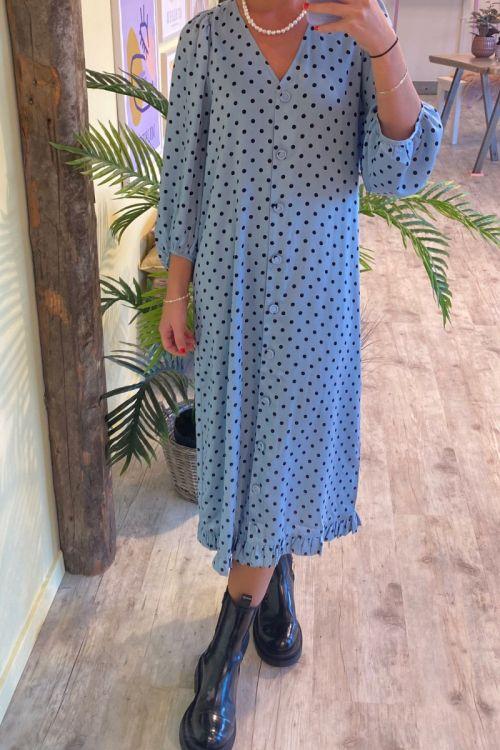 A-View - Kjole - Anja Dress - Light Blue