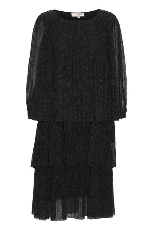 A-View - Kjole - Ilja LS. Lurex Dress - Black