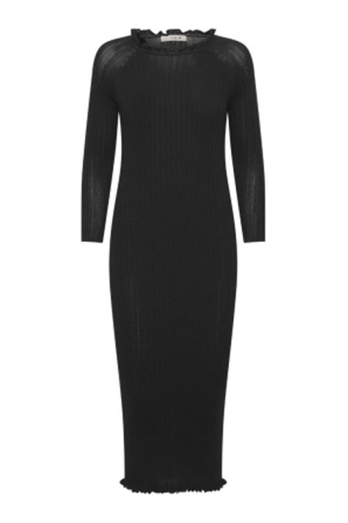 A View Kjole Jackie Knit Dress Black Front