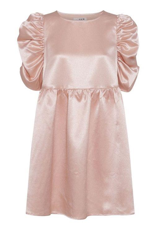 A-View Kjole Leonora Dress Soft Skin Front