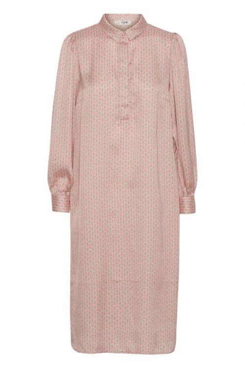 A-View - Kjole - Onah Shirt Dress - Pale Pink