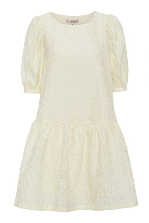 A-View - Kjole - Rasmine Dress - Pale yellow