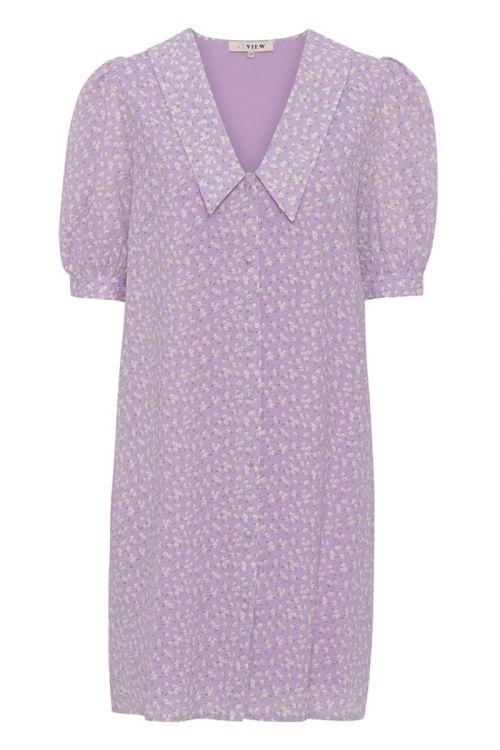 A-View Kjole Ria SS Dress Lavendel Front