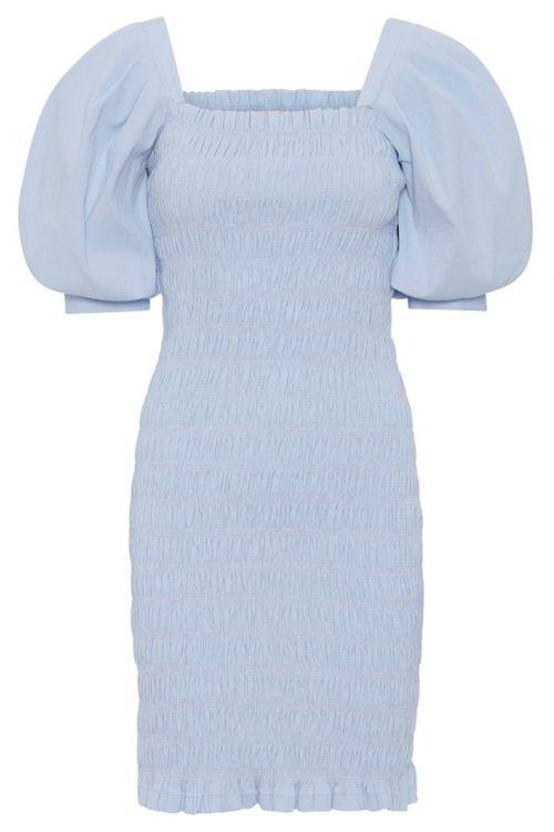 A-View - Kjole - Rikka plain dress 281 - Blue
