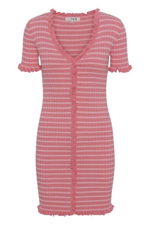 A-View - Kjole - Sabia Dress - Bubblegum/Blossom