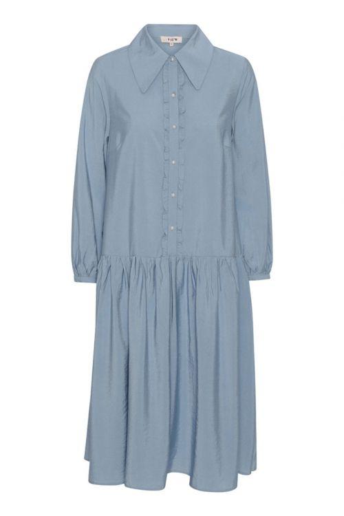 A-View - Kjole - Tilana Dress - Blue