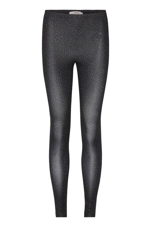 A View Leggings Ilola Jersey Leggings Black Front