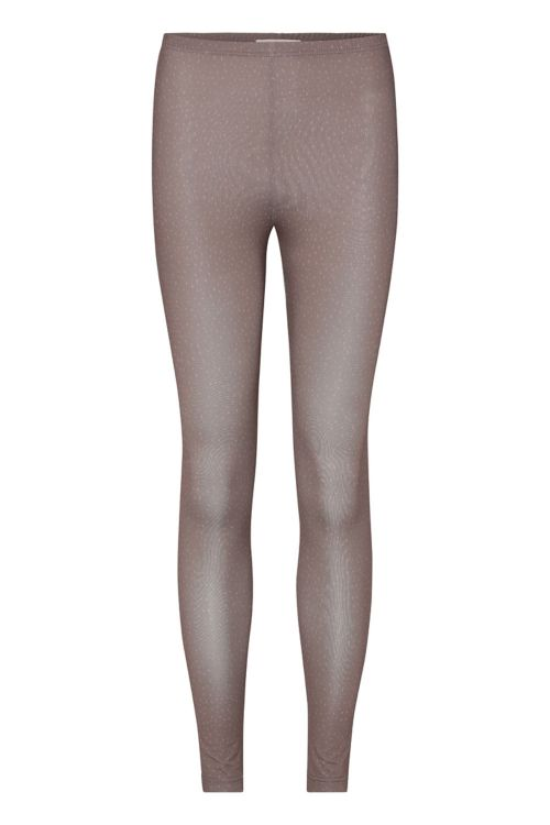 A View Leggings Ilola Jersey Leggings Brown Front