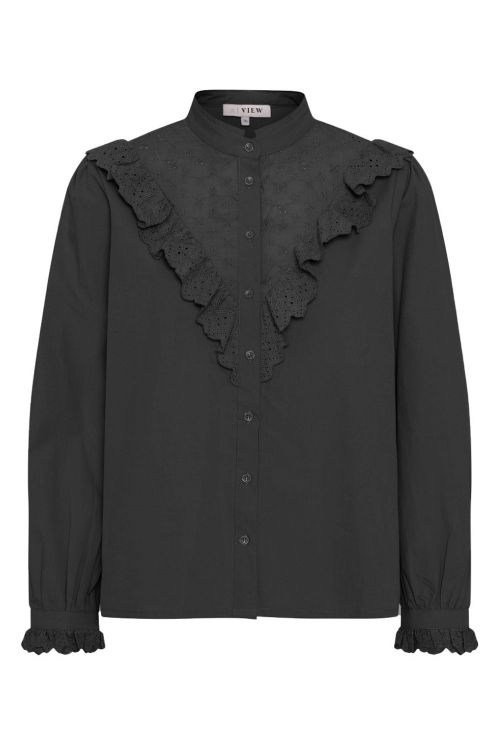 A View Skjorte Katja Shirt Black Front