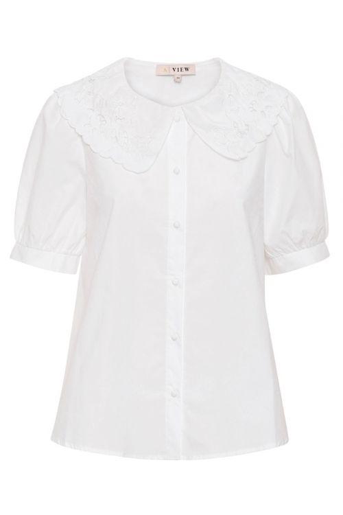 A-View - Skjorte - Simona Shirt - White