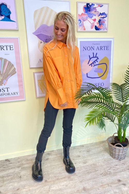 A-View  Skjorte  Sofie  250 Orange Front