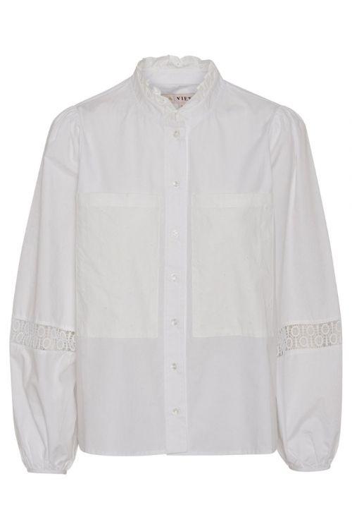 A-View Skjorte Tiffany Shirt White Front