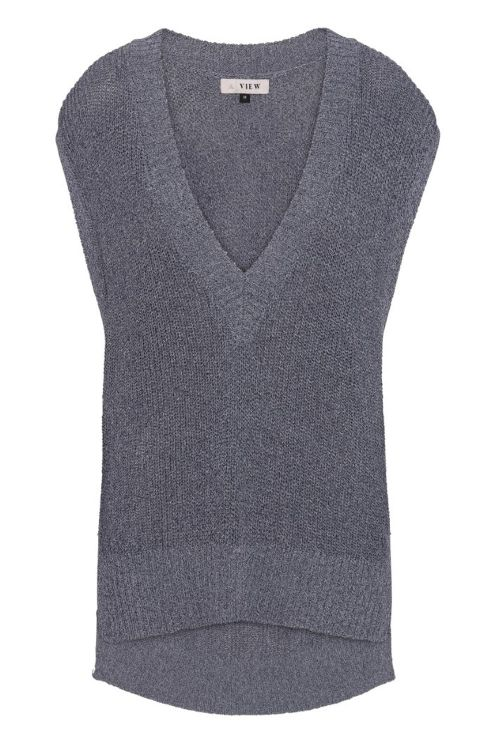 A View Vest Kinna Light Grey Front