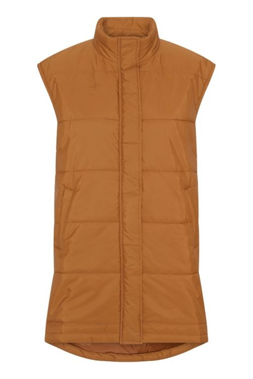 A-View - Vest - Michel Puffer Vest - Brown