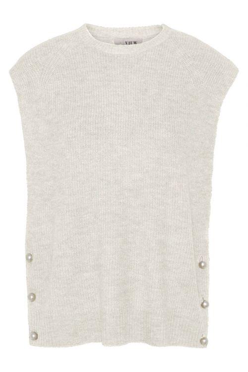 A-View - Vest - Ozilla Knit Vest - Off White
